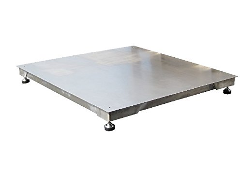 5,000 LBS x 1 LB Optima Scale (NTEP LEGAL FOR TRADE) OP-916-5x5 All Stainless Steel Floor Scale, Pallet Scale, Platform Scale, Industrial Scale, 5' x 5' NEW !!