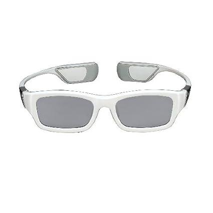 36deb624486d Amazon.com: Samsung SSG-3300CR 3D Active Glasses - White (Compatible with  2011 3D TVs): Electronics