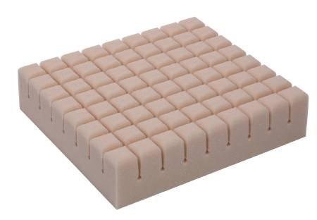 Geo-Matt Seat Cushion, Segmented Foam - Soft Skin sleeve Cover