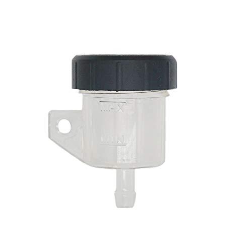 Lefossi Transparent Color Universal Motorcycle Foot Rear Brake Master Cylinder Tank Oil Cup Fluid Bottle Reservoir