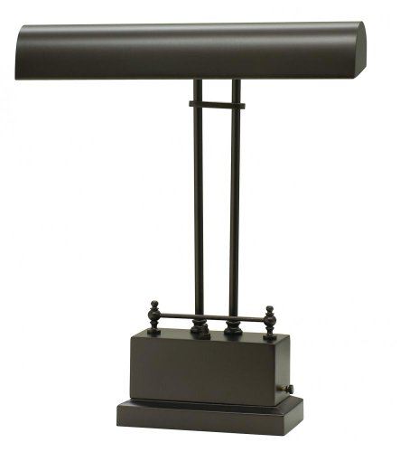 Mahogany Bronze Piano Lamp - 7
