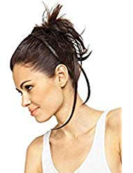 Dancing Stars Salsaloosa Hair Wrap Tru2Life Styleable Hairpiece R4 Midnight Brown