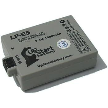 Amazon.com: 2 x Pack – Canon EOS 500d de la batería + ...