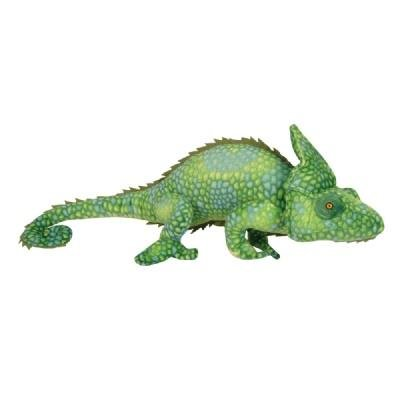 Chameleon Animal (One Large Green Plush Stuffed Realistic Chameleon - 27