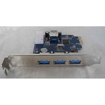 TARJETA PCI-EXPRESS USB 3.0 4P+ PERFIL BAJO: Amazon.es ...