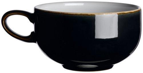 Denby Jet Black Teacup by Denby