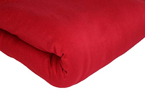 Solid Posing Fabric Backdrop, Photography Prop, 2 Yards, 25 Available Colors (Red)