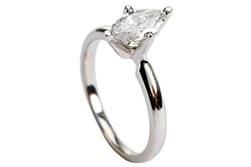 0.76 Ct Marquise Diamond - 3