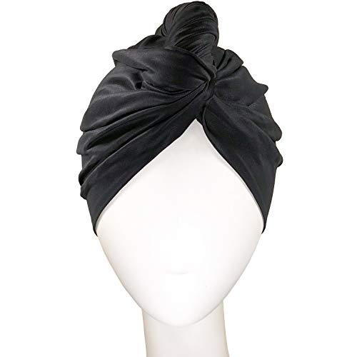 THE PERFECT HAIRCARE Microfiber Hair Towel Wrap Ultra-Fine Anti-Frizz Turban That Never Falls Off – Curly Girl Method…