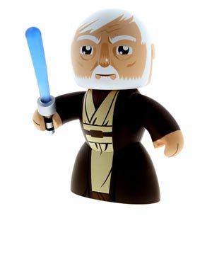 Star Wars Mighty Muggs 2009 Vinyl Figures Wave 2 Obi-Wan - Vinyl Muggs Mighty