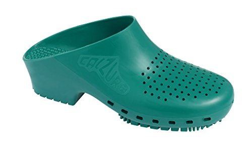 Calzuro Autoclavable Clog with Upper Ventilation Green
