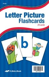 Letter Picture Flashcards by Abeka