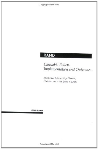 Cannabis Policy, Implementation And Outcomes