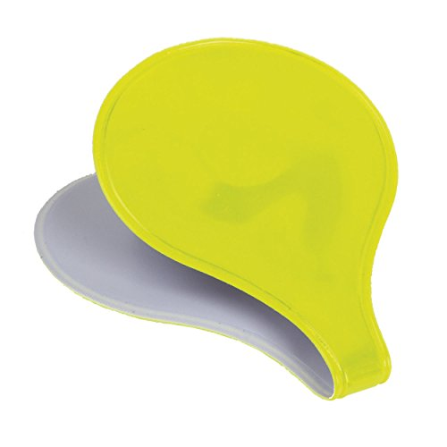 M-Wave Reflective Magnetic Clip, Neon Yellow