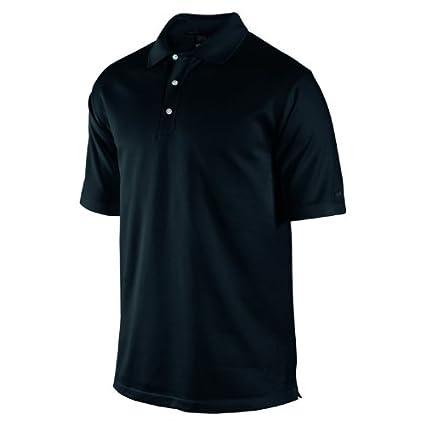 85e2b05e Nike Men's Tiger Woods Collection Dri-FIT Mercerized Birdseye Golf Polo  Shirt, Black/