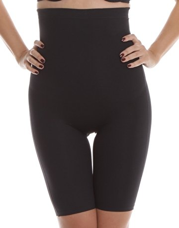 077a4b1f94ec Playtex Womens Objective 1 Size Down High Waist Thigh Slimmer Black ...