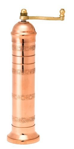 Pepper Mill Imports Atlas Salt Mill, Copper, 9'' by Pepper Mill Imports