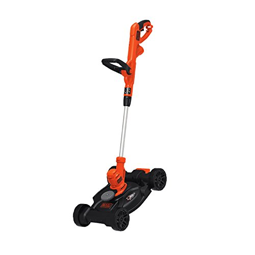 BLACK+DECKER 3-in-1 Electric Lawn Mower, String Trimmer & Edger, 12-Inch (BESTA512CM)