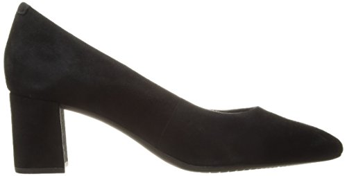 Rockport Donne Pompa Totale Movimento Salima Camoscio Nero