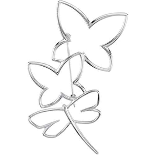 Bonyak Jewelry Butterfly/Dragonfly Brooch in Sterling Silver