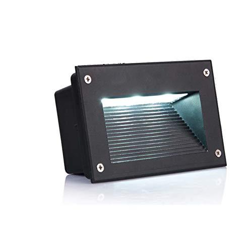official photos 30fe1 1500f 3-Pack 3W AC120V AC110V Recessed LED Step Light Lighting for ...