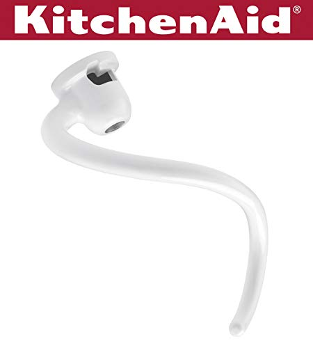 KitchenAid KNS256CDH Spiral Coated Dough Hook - Fits Bowl-Lift models KV25G and KP26M1X (Best Mixer For Kneading Dough)