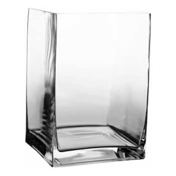 Amazon 8 Tall Contemporary Rectangle Vases Home Kitchen