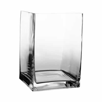 """8"""" Tall Contemporary Rectangle Vases"""