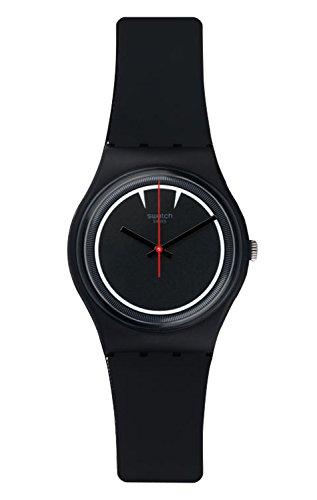 Swatch Boy's Originals GB294 Black Silicone Swiss Quartz - Swatch For Boys