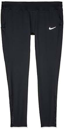 Nike Women's Racer Plus Tights AH8416-010, Black/Black, 1X