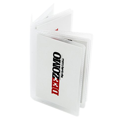 SET OF 2 Wallet Inserts Replacement 6 Page Card Holder for Bifold or Trifolds Wallet (Tall Wallet Insert)