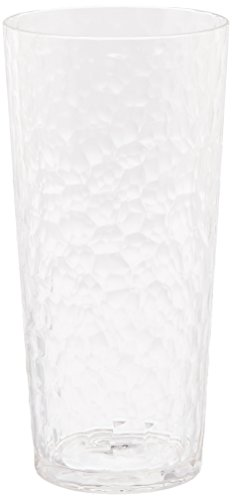Francois et Mimi Large Sized 20oz Acrylic Plastic Water Tumblers, Set of 6 - Kool Shot Glasses