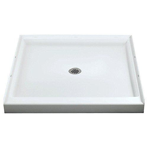 Sterling/Vikrell Ensemble 36-Inch Shower Base, White, High Gloss #72101100-0 (Finish Receptor Shower)