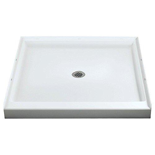 (STERLING/Vikrell Ensemble 36-Inch Shower Base, White, High Gloss #72101100-0)