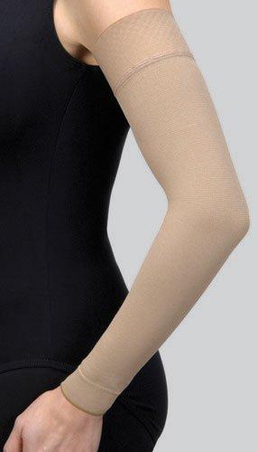 Jobst Bella Strong 15-20mmHg Arm Sleeve - natrl - 8 - reg - silic