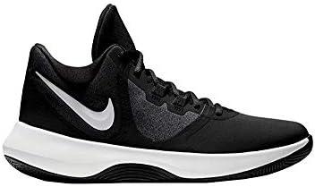 Nike Men's Air Precision II NBK Basketball Shoes AQ3521-001 (6.5 D US, Black/White)