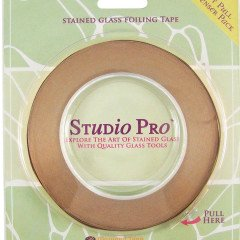 Studio Pro 7/32-Inch Silver Lined Copper Foil (Diamond Silver Foil)