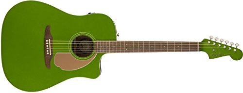 Fender Redondo Player – California Series Acoustic Guitar – Electric Jade