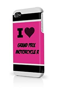 Grand Prix Motorcycle R Pink For HTC One M7 Phone Case Cover