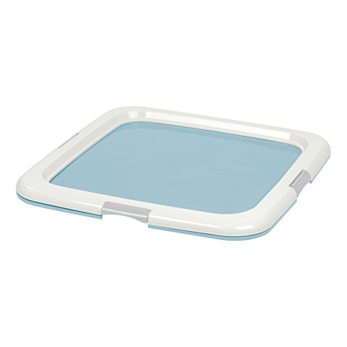 IRIS Square Pet Training Pad Holder, Blue