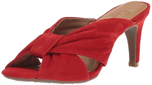 reet LAMP Sandal, mid red Suede, 8.5 M US ()