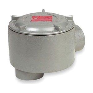 Killark GESLBT-3 LB Type Outlet Body, Copper-Free Aluminum, 1'' Hub, 19 cu. in, Gray