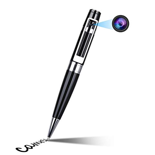 Spy Camera Pen 1080P HD Mini Portable Hidden Cameras Video & Snapshot Small DVR Cam Video Recorder with 2 Ink Fills Built-in 16GB SD Card