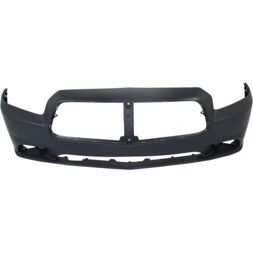 Perfect Fit Group REPD010360P - Charger Front Bumper Cover, Primed, W/ Adaptive Speed Control, Except Srt-8 Model Dodge Charger Bumper Cover