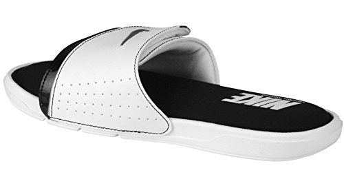Nike 205 Metallic Dimensioni 100 Black Mens Metallic White 415 argento Slide M Us Stile nero Silver 6 White Comfort 2 rXrnvS7R