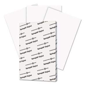 Springhill Digital Index White Card Stock, 11 x 17, 250 Sheets/Pack (SGH015110) (8 Pack)