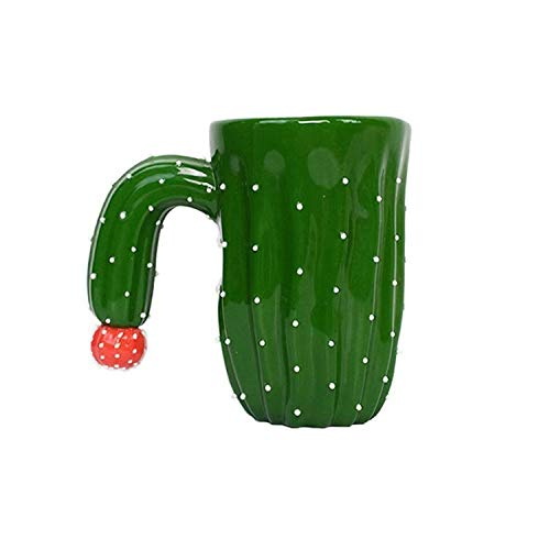 Novelty Ceramic Cactus Mugs Funny Coffee Mug Handmade