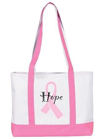 Amazon.com: prestige medical bolsa de tela, lazo rosa Hope ...