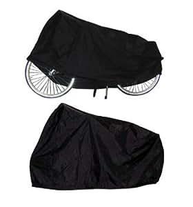 TAQ-33 - Cubierta protectora para bicicletas, color negro