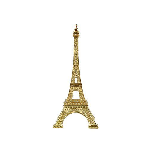 (allgala Eiffel Tower Statue Decor Alloy Metal, and Size (06